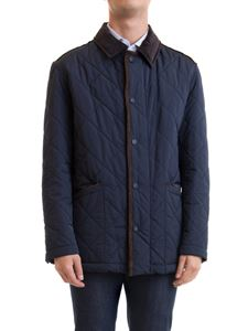 Brioni - Quilted jacket in blue