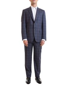 Brioni - Prince of Wales suit in blue