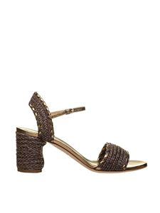 Casadei - Sandals in chocolate color
