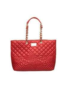 Ermanno Scervino - Giselle quilted bag in red faux leather