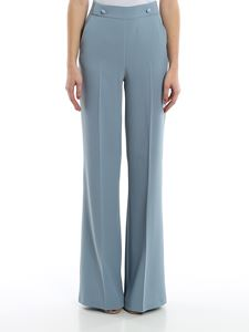 Pinko - Sbozzare 2 palazzo pants in light blue