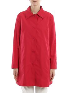 Pinko - Porridge coat in red
