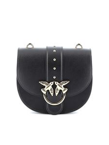 Pinko - Go-Round Classic Simply bag in black