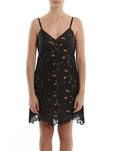 Michael Kors - Embroidered fabric mini dress