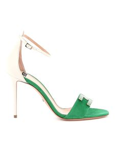 Elisabetta Franchi - Leather and suede sandals