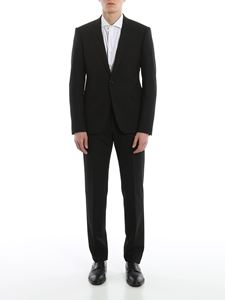 Emporio Armani - Viscose blend suit in black