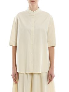 Aspesi - Poplin shirt in cream color