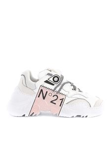 N° 21 - Billy-Limited Edition in white and pink