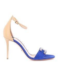 Elisabetta Franchi - Suede and leather sandals