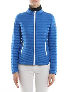 Colmar Originals - Quilted fabric puffer jacket in light blue