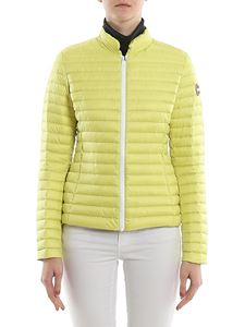 Colmar Originals - Ultralight fitted puffer jacket in yellow