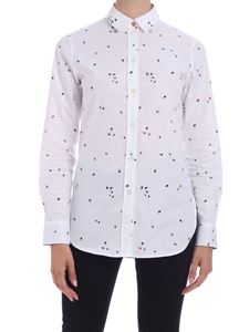 Paul Smith - Beetle print cotton shirt in white
