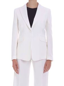 Paul Smith - Satin detail jacket in ivory color