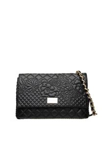 Ermanno Scervino - Giselle quilted bag in black faux leather