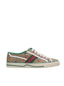 Gucci - Sneakers Tennis 1977 Disney x Gucci beige