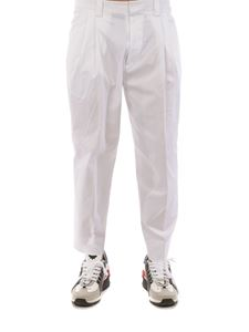 Dsquared2 - Stretch cotton pants in white