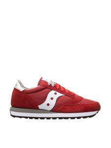 Saucony - Jazz Original sneakers in red and white