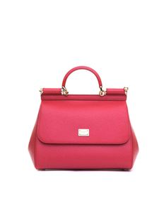 Dolce & Gabbana - Sicily bag in red leather