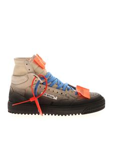 Off-White - Fabric and leather sneakers