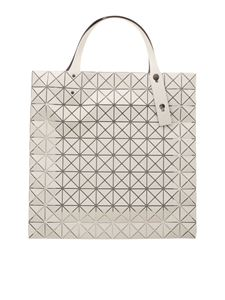 BAO BAO Issey Miyake - Prism Frost tote in white
