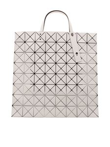 BAO BAO Issey Miyake - Lucent Matte tote in pearl gray