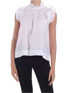 Sea New York - Lucy top in white