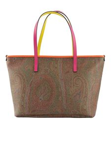 Etro - Paisley print shopper in brown
