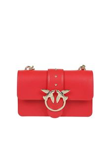 Pinko - Borsa Love Simply Mini rossa