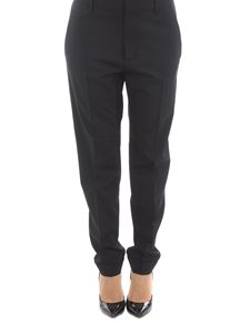 Dsquared2 - Stretch virgin wool trousers in black
