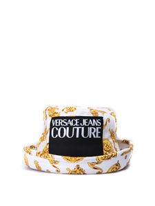 Versace Jeans Couture - Barocco print bucket hat in white