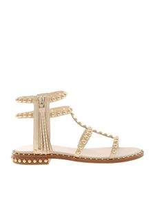 Ash - Power sandals in ivory color