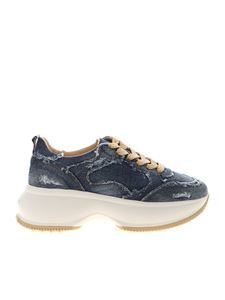 Hogan - Sneakers Maxi I Active in denim blu