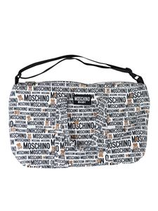 Moschino Kids - Teddy logo changing bag