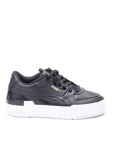 Puma - Cali Sport black leather sneakers