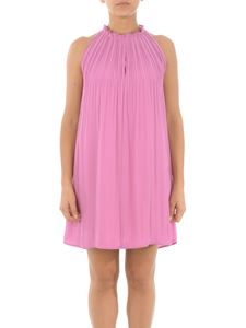 Dondup - Georgette dress in pink