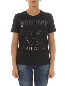 Moschino - Double Question Mark black T-shirt