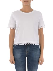 Dondup - Rocio jersey T-shirt in white