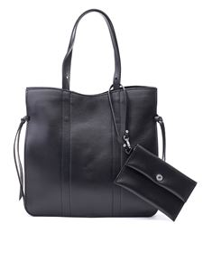 Gianni Chiarini - Smooth leather shoulder bag in black