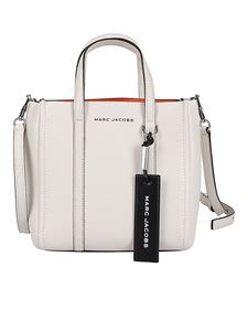 Marc Jacobs  - The Mini Tag tote in white