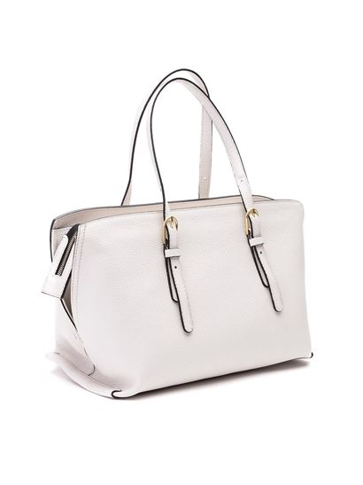 Gianni Chiarini - Leather tote bag in white