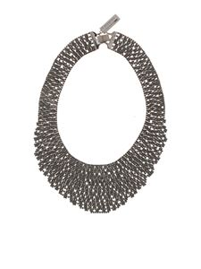 Max Mara Weekend - Etuania necklace in anthracite grey