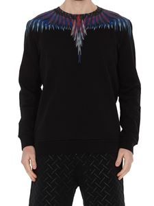 Marcelo Burlon County Of Milan - Wings print sweatshirt in black
