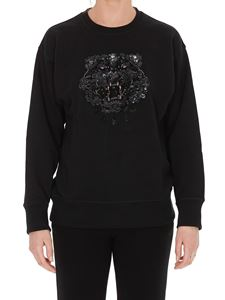 Kenzo - Tiger embroidery sweatshirt in black
