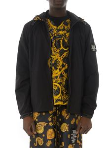 Versace Jeans Couture - Jewel print jacket in black