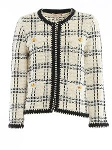 Tory Burch - Kendra jacket in cream color