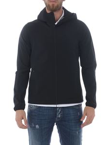 Herno - Tech fabric hooded jacket