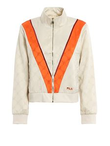 Fila - Halle track jacket in cream color