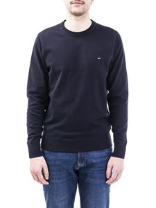 Tommy Hilfiger - Pullover in misto cotone color Desert Sky