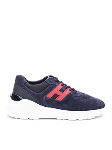 Hogan - Active One suede sneakers in blue