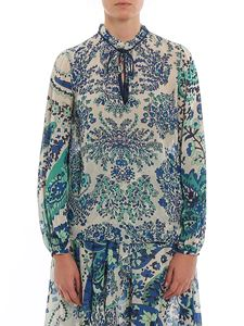 Twin-Set - Paisley print blouse in blue